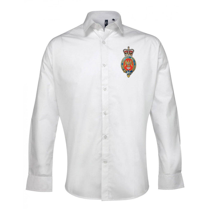 Oxford Shirt - The Blues And Royals Long Sleeve Oxford Shirt