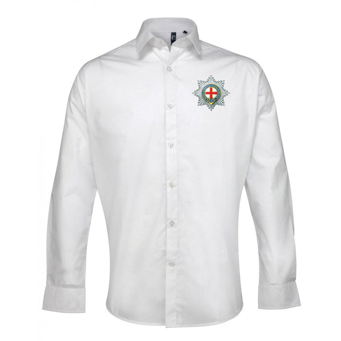 Oxford Shirt - The Coldstream Guards Long Sleeve Oxford Shirt