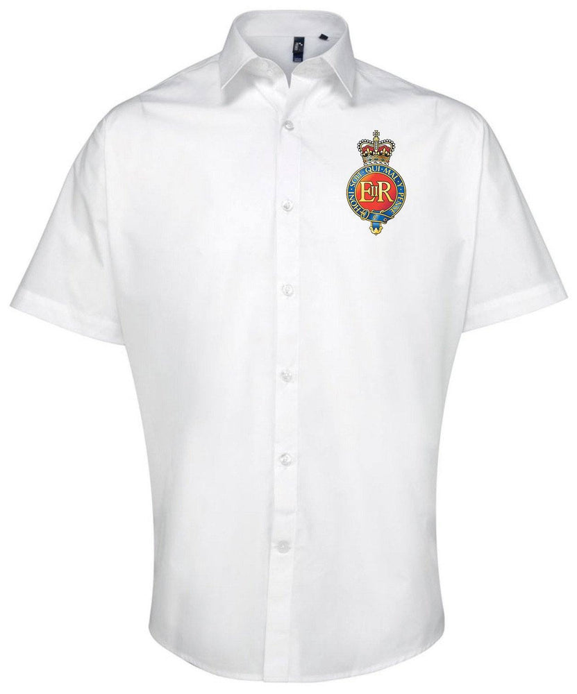 Oxford Shirt - The Household Cavalry Short Sleeve Oxford Shirt