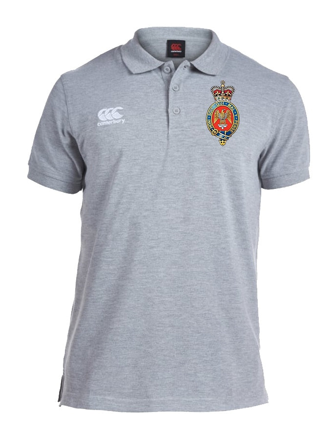 POLO Shirt - The Blues And Royals Canterbury Pique Polo Shirt