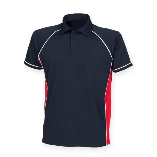 POLO Shirt - The Life Guards Performance Polo 'Multi Logo Options Build Your Own Shirt'
