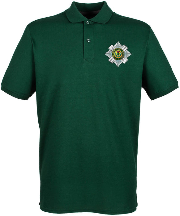 POLO Shirt - The Scots Guards Embroidered Pique Polo Shirt