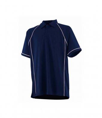 POLO Shirt - The Scots Guards Performance Polo 'Multi Logo Options Build Your Own Shirt'