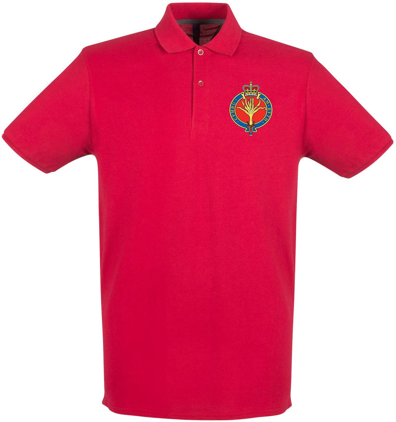 POLO Shirt - The Welsh Guards Embroidered Pique Polo Shirt