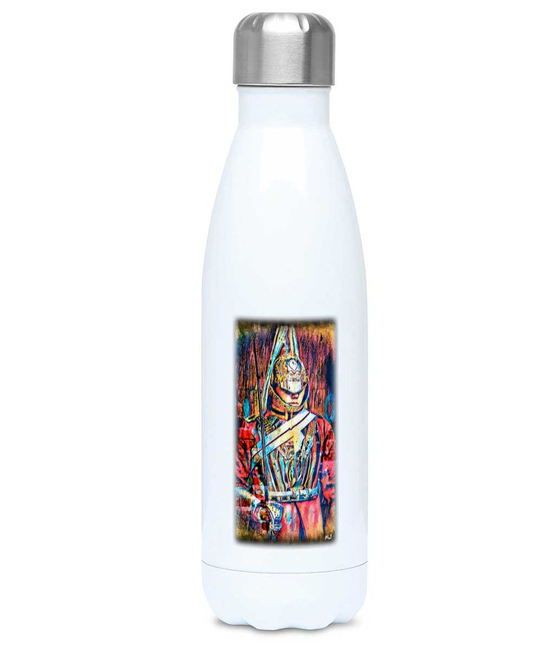QUEEN'S LIFE GUARD Printed Staineless Steel Water Bottle