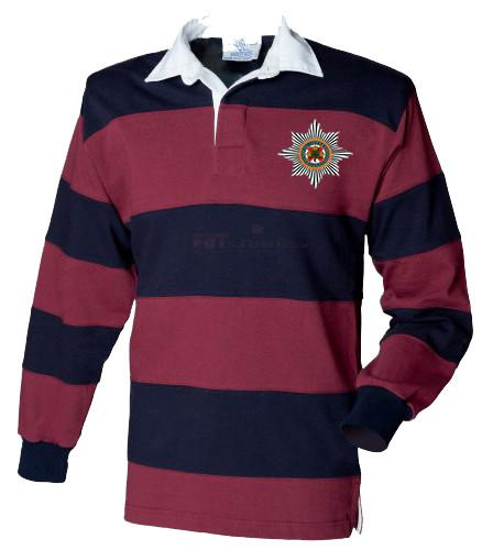 Rugby Shirt - The Irish Guards BRB Rugby Shirt