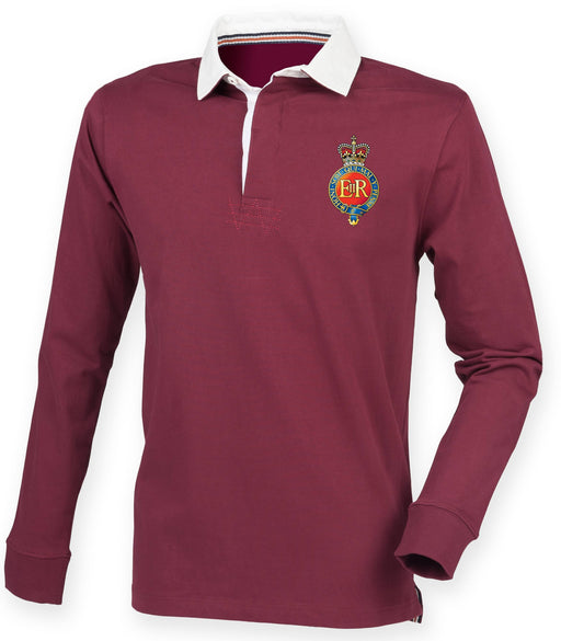 Rugby Shirts - The Household Cavalry Premium Superfit Embroidered Rugby Shirt