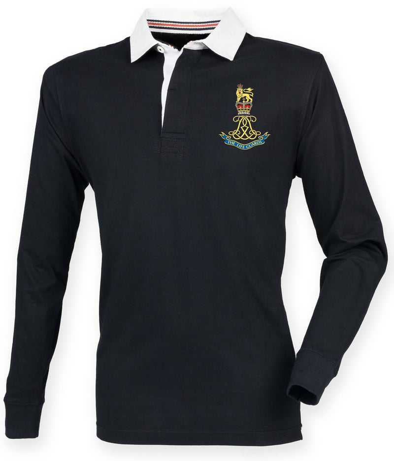 Rugby Shirts - The Life Guards Premium Superfit Embroidered Rugby Shirt