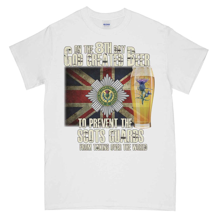 Scots Guards on The 8th Day Printed T-Shirt