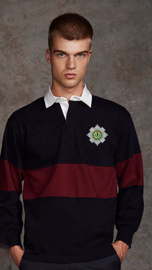 Scots Guards Panelled BRB Rugby Shirt