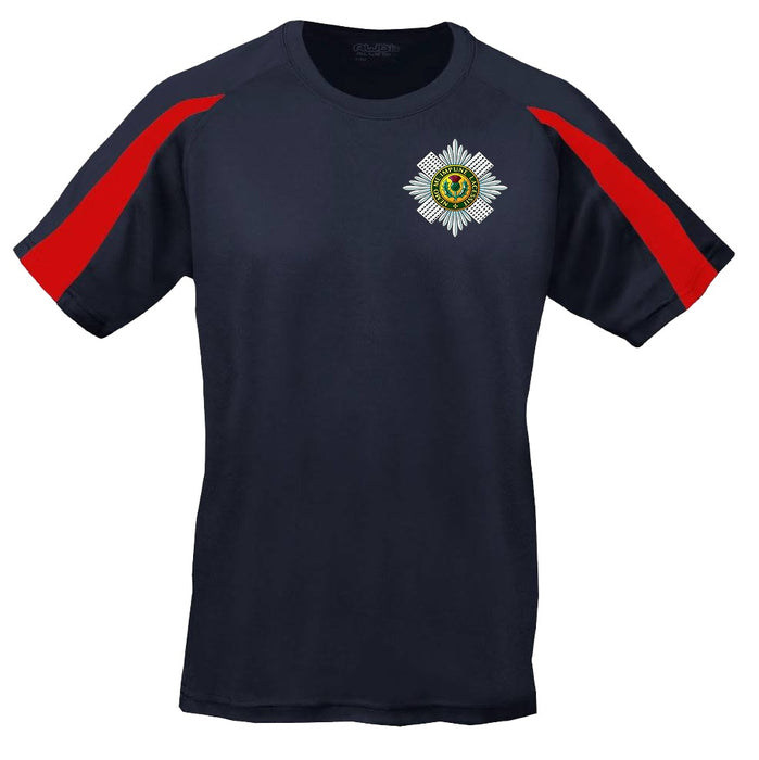 Sports T-Shirt - The Scots Guards Embroidered BRB Sports T-Shirt
