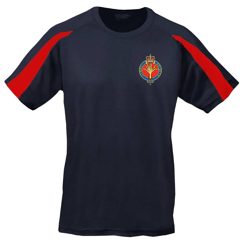 Sports T-Shirt - The Welsh Guards Embroidered BRB Sports T-Shirt