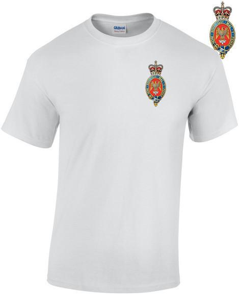 T-Shirt - Blues And Royals Embroidered T-Shirt