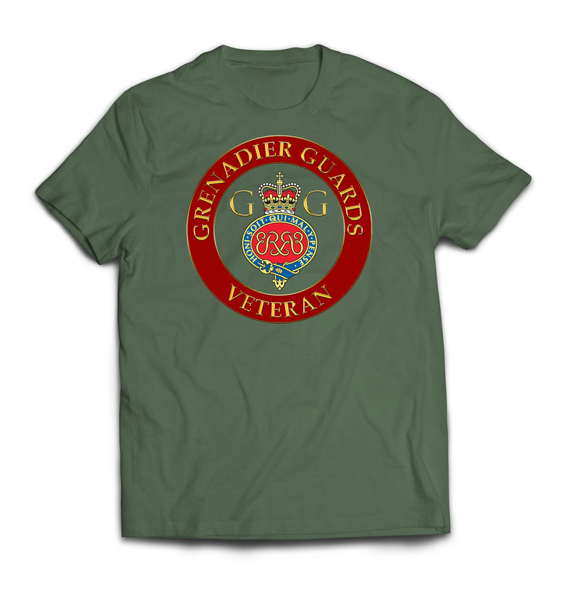 T-Shirt - Grenadier Guards Veteran Printed T-Shirt