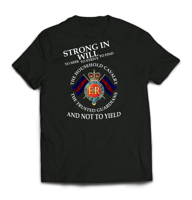 T-Shirt - HOUSEHOLD CAVALRY GUARDIANS Printed T-Shirt