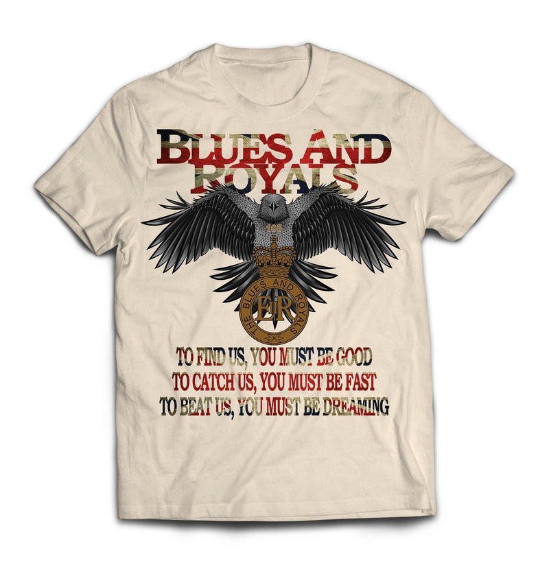 T-Shirt - The Blues And Royals Eagle Printed T-Shirt