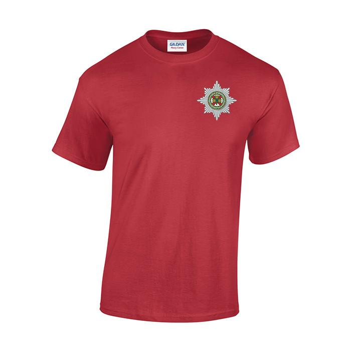 T-Shirt - The Irish Guards Embroidered T-Shirt