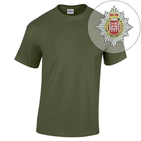 T-Shirt - The London Regiment Embroidered T-Shirt