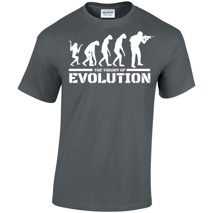 T-Shirt - THE THEORY OF EVOLUTION Printed T-Shirt
