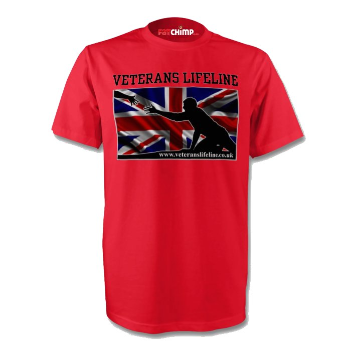 T-Shirts - The Veterans Lifeline Charity Printed Unisex T-Shirt