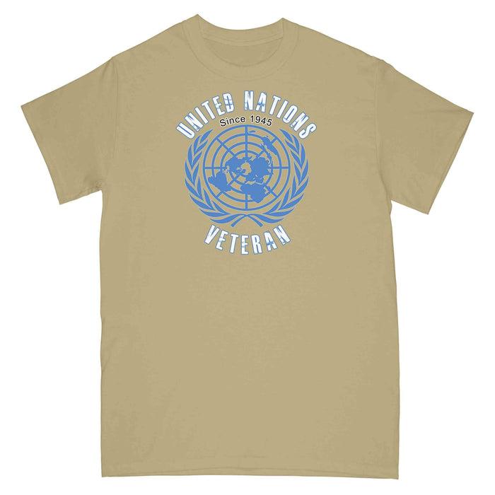 UNITED NATIONS VETERAN Printed T-Shirt