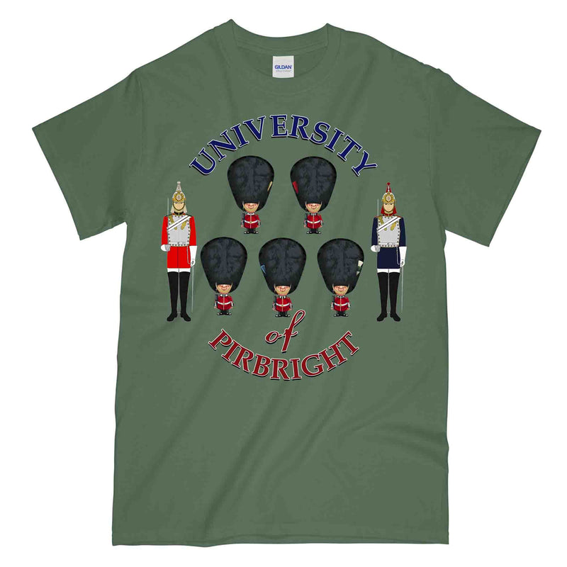 UNIVERSITY OF PIRBRIGHT GUARDS Printed T-Shirt
