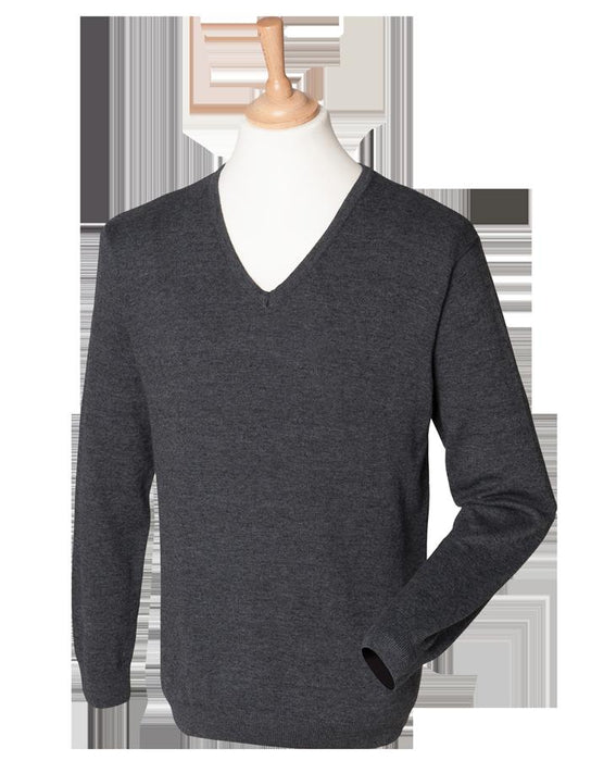 V Neck Sweater - The Blues And Royals Lightweight V Neck Sweater