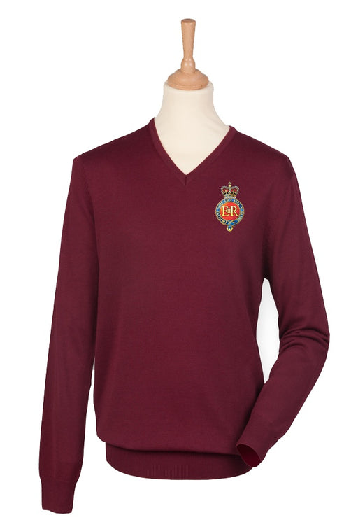 V Neck Sweater - The Household Cavalry Lightweight V Neck Sweater