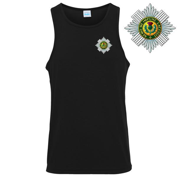 Vest - The Scots Guards Mens Sports Vest