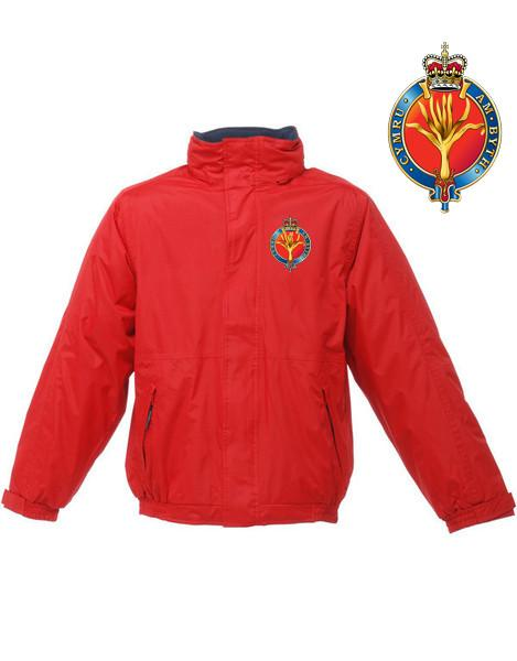 Waterproof Jacket - The Welsh Guards Regatta Waterproof Jacket