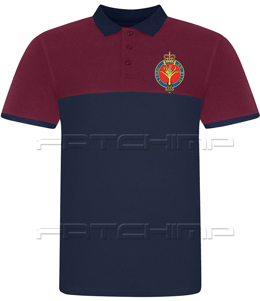 Welsh Guards BRB Pique Polo Shirt