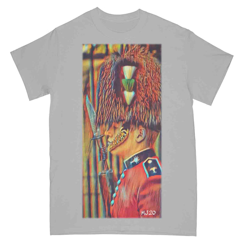 WELSH GUARDS CEREMONIAL On Parade Art Printed T-Shirt