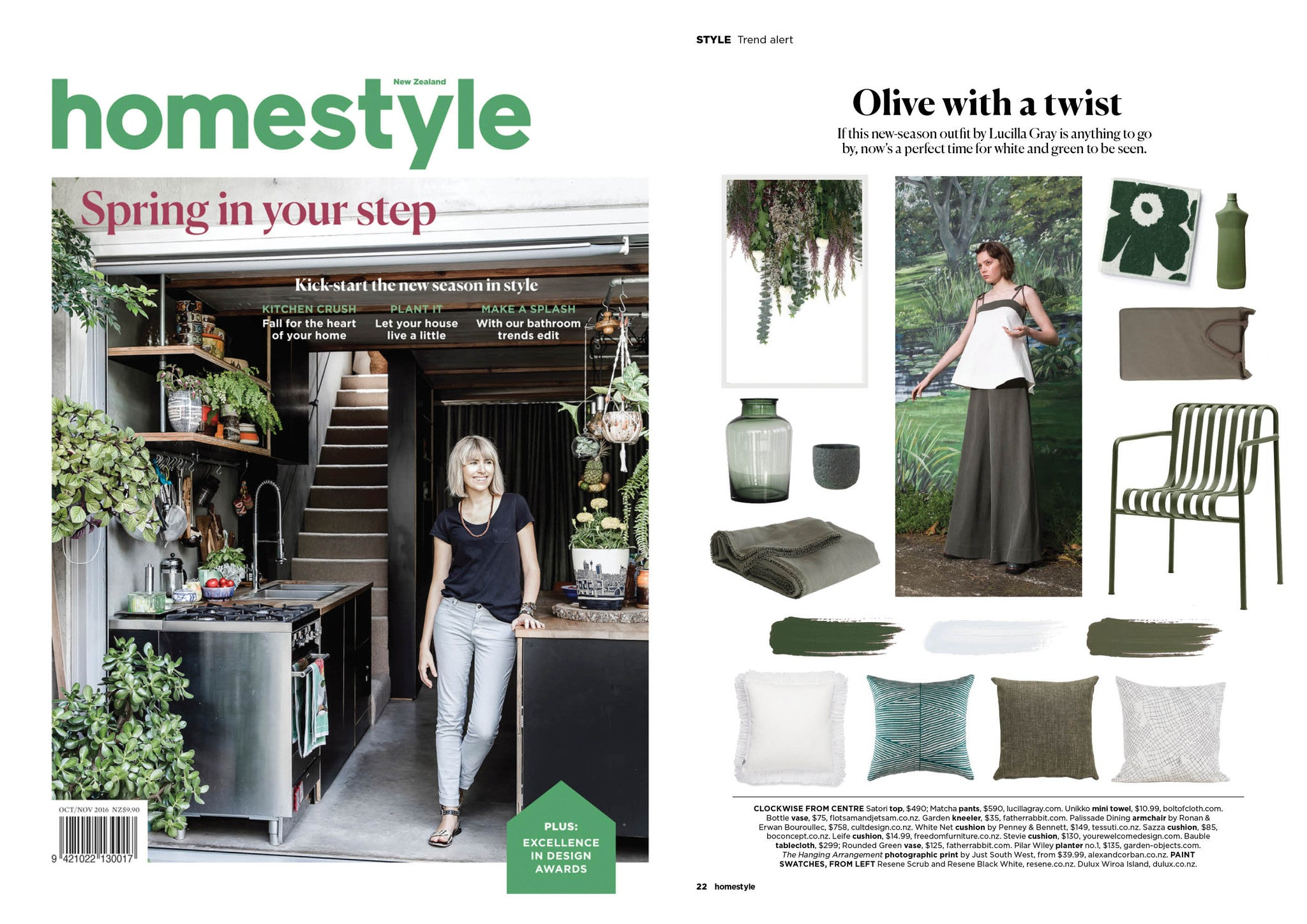TREND ALERT - HOMESTYLE MAGAZINE OCT/NOV 2016