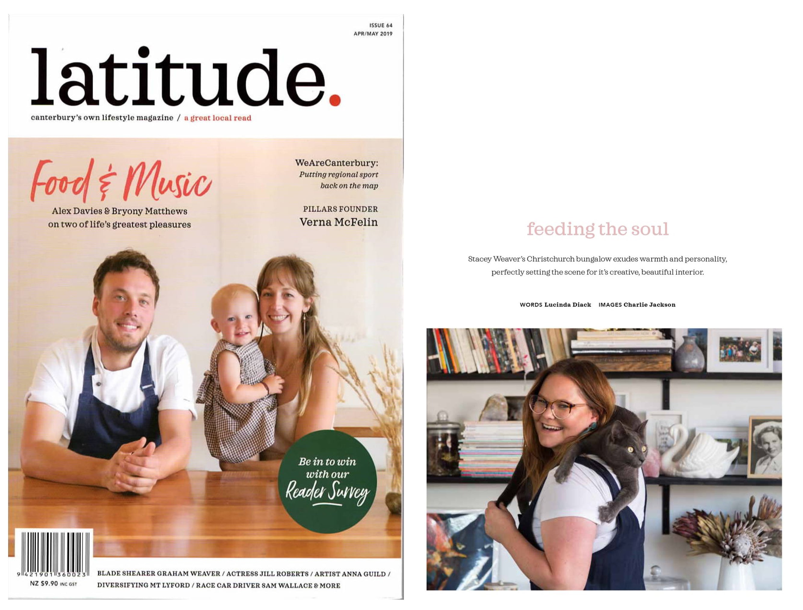 Feeding The Soul - Latitude Magazine - Issue 64 April/May 2019