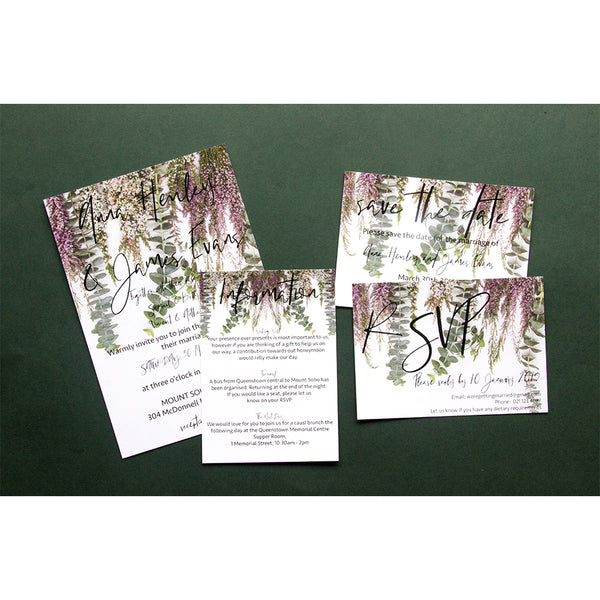 Wedding Stationery - Vine