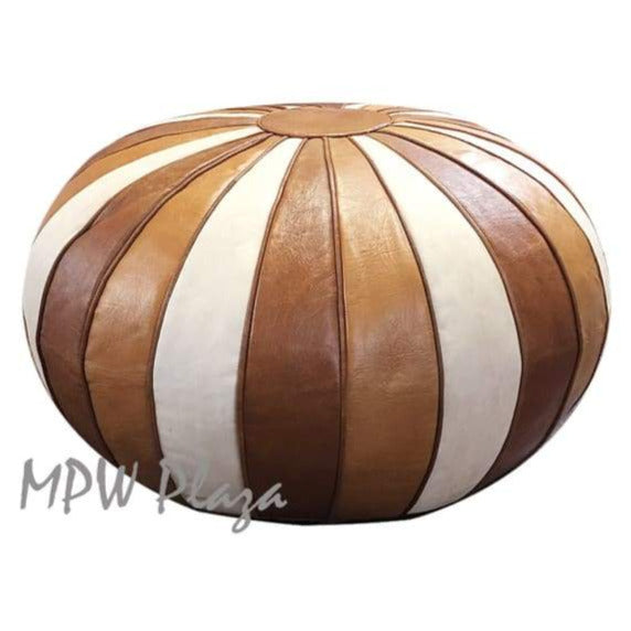 Deco Pouf, Natural, 20x35