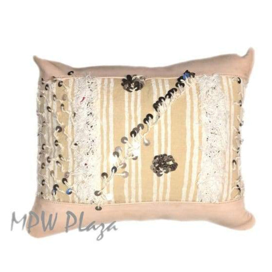 Handira Leather Pillow - MPW Plaza (R)