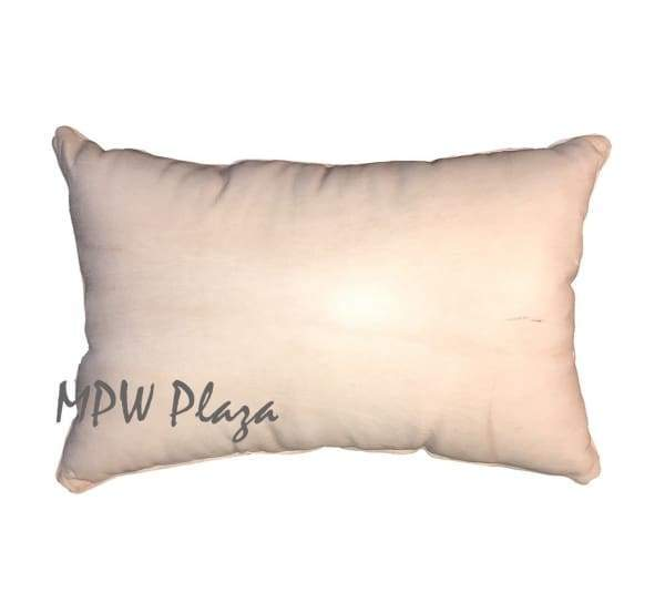 Stuffed Moroccan Leather Pillow - MPW Plaza (R)