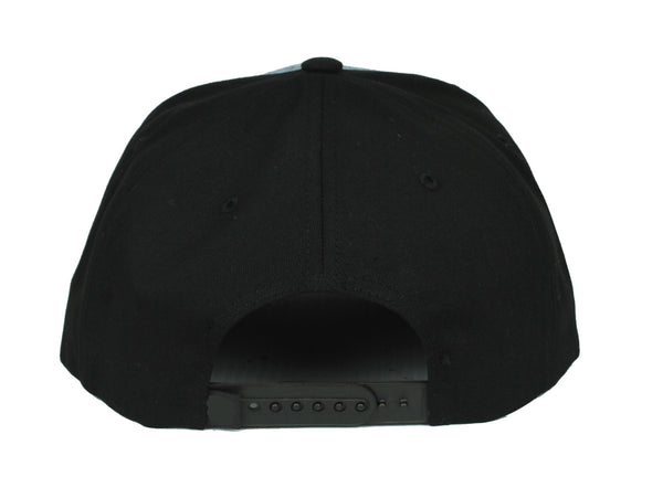 Swoldier Nation Snapback Hat Denim/Black
