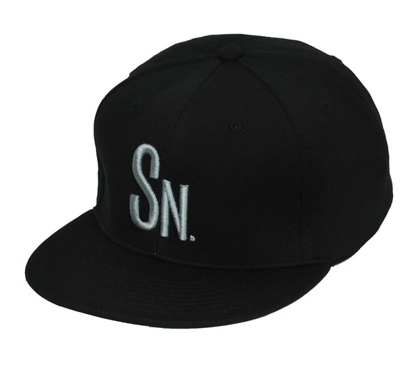 Swoldier Nation SN Snapback Hat Black/Charcoal Mesh