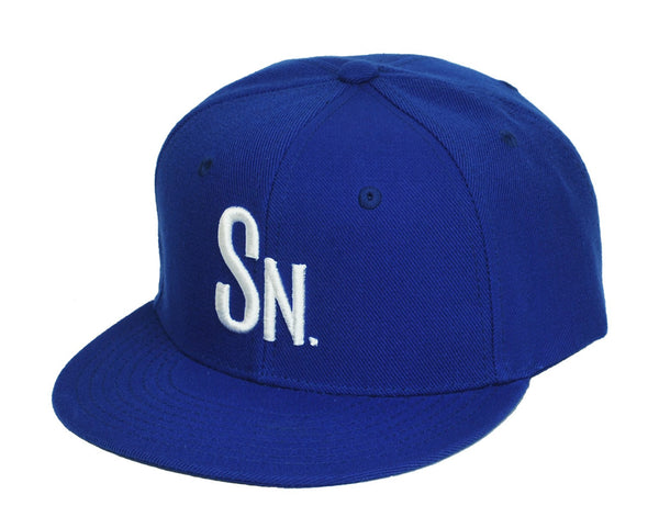 Swoldier Nation SN Snapback Hat Blue/White