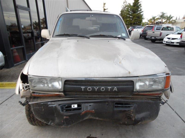 Door Glass, Front 1993 Toyota Land Cruiser