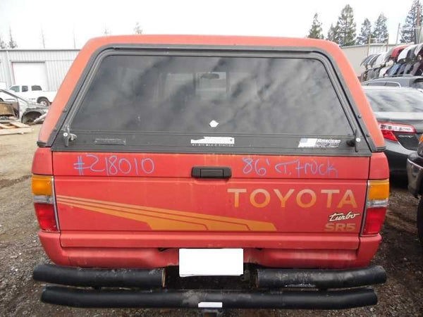 Back Glass 1986 Toyota Truck (except T100 & Tundra)