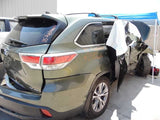Seat Belt Assm, Rear 2015 Toyota Highlander