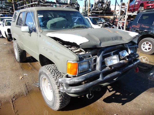 Door Vent Glass, Front 1987 Toyota 4Runner