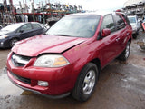 Chassis Cont Mod 2006 Acura MDX