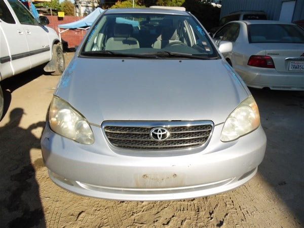Loaded Beam Axle 2005 Toyota Corolla not FX