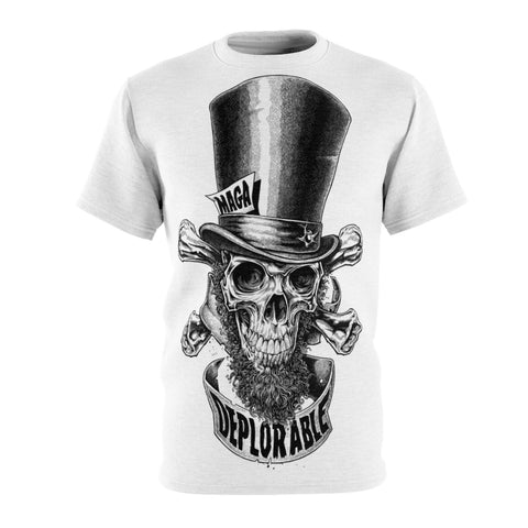Deplorable (Large Print)- Unisex AOP Cut & Sew Tee