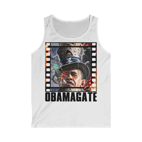 Obamagate- Men's Softstyle Tank Top