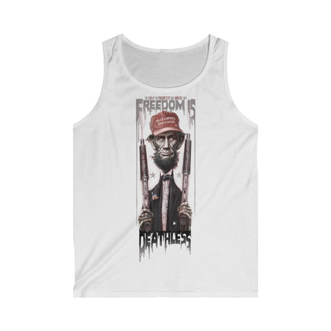 Freedom Is Deathless- Men's Softstyle Tank Top